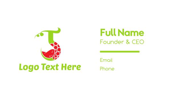 grapevine - Vine Drink Business card horizontal design