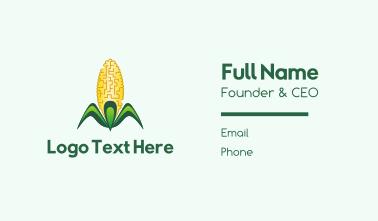 Yellow Corn Business Card