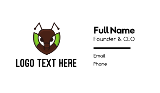 Ant Leaf Business Card
