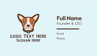 Cute Brown Chihuahua Business Card