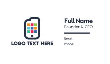 Document Smartphone App Business Card