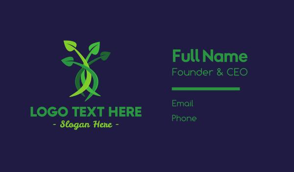 Leaf Bouquet Business Card