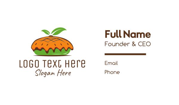 pie - Organic Pie Business card horizontal design