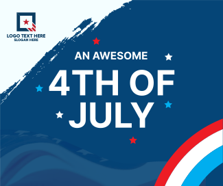 Celebrate 4th of July Facebook post