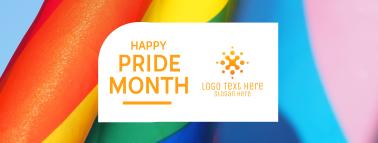 Happy Pride Month Facebook cover