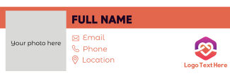 Horizontal Bar Email Signature