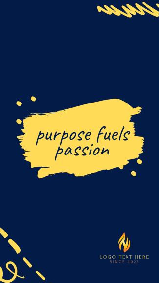 Purpose Facebook story
