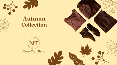 Autumn Vibes Apparel Facebook event cover