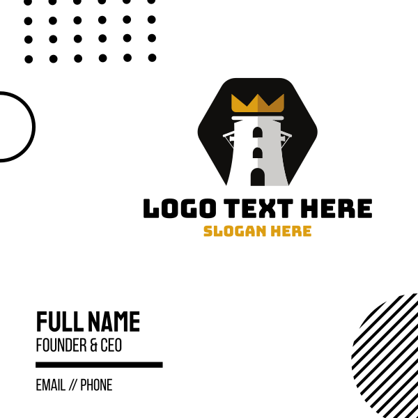 King Tower Business Card