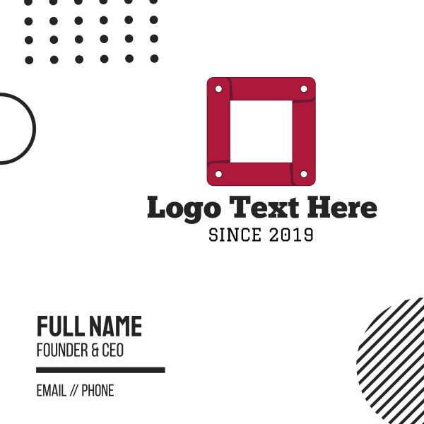 Link Cube Business Card