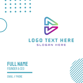 Abstract Media Business Card