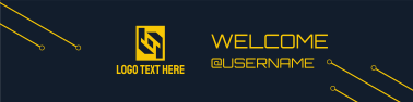 Gamer Circuit Welcome Twitch banner