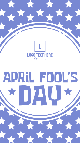 April Fool's Day Facebook story