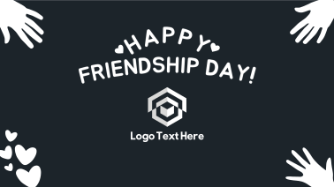 Happy Friendship Day Facebook event cover