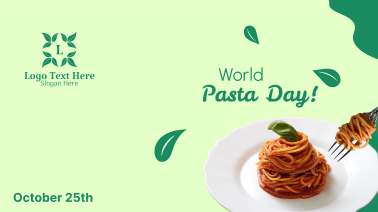 World Pasta Day Greeting Facebook event cover