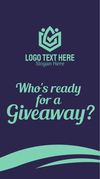 Giveaway Facebook story