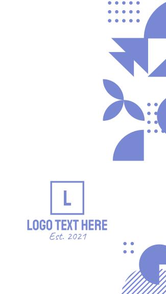 Mosaic Geometric Shapes Facebook story