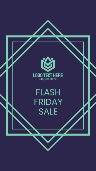Flash Friday Sale Now! Facebook story