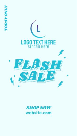Flash Sale Thunder Facebook story
