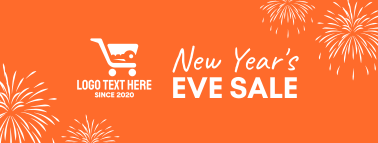 New Year Sale Facebook cover