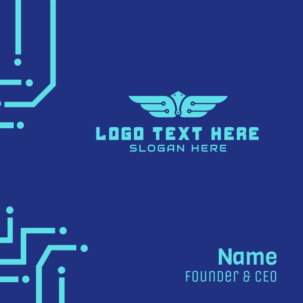 Tech Wings Business Card