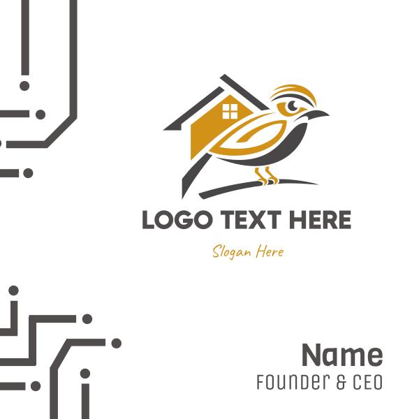 Golden  Bird House Business Card