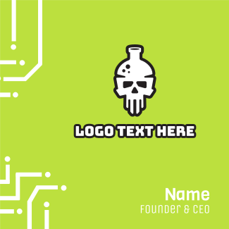Death Lab Business Card