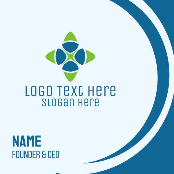 Generic Star Business Business Card