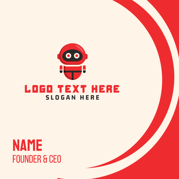 Red Robot Business Card