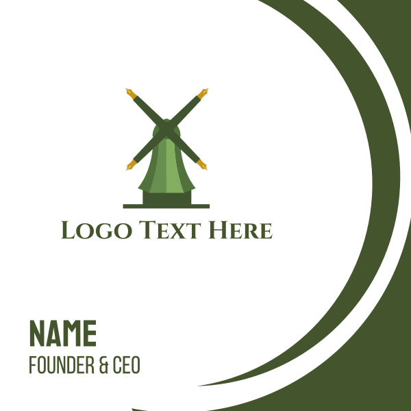 Educational Mill Business Card