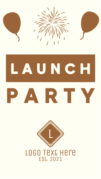 Launch Party Facebook story