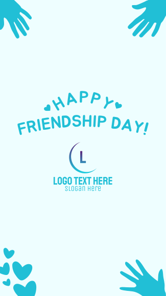 Happy Friendship Day Facebook story