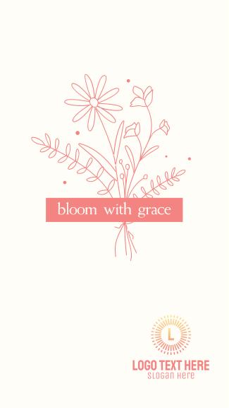 Flowers Bloom Facebook story