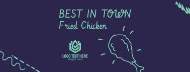 Fried Chicken Facebook cover