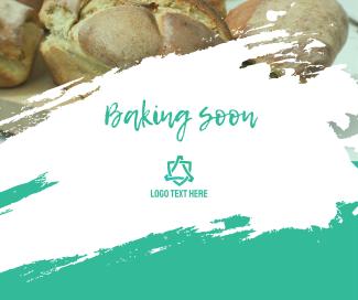 Baking Soon Facebook post