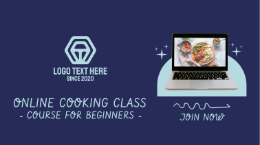 Online Cooking Class Facebook event cover