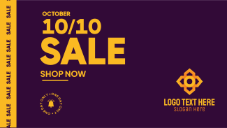 Sale 10.10 Facebook event cover