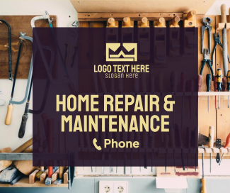Home Maintenance Facebook post