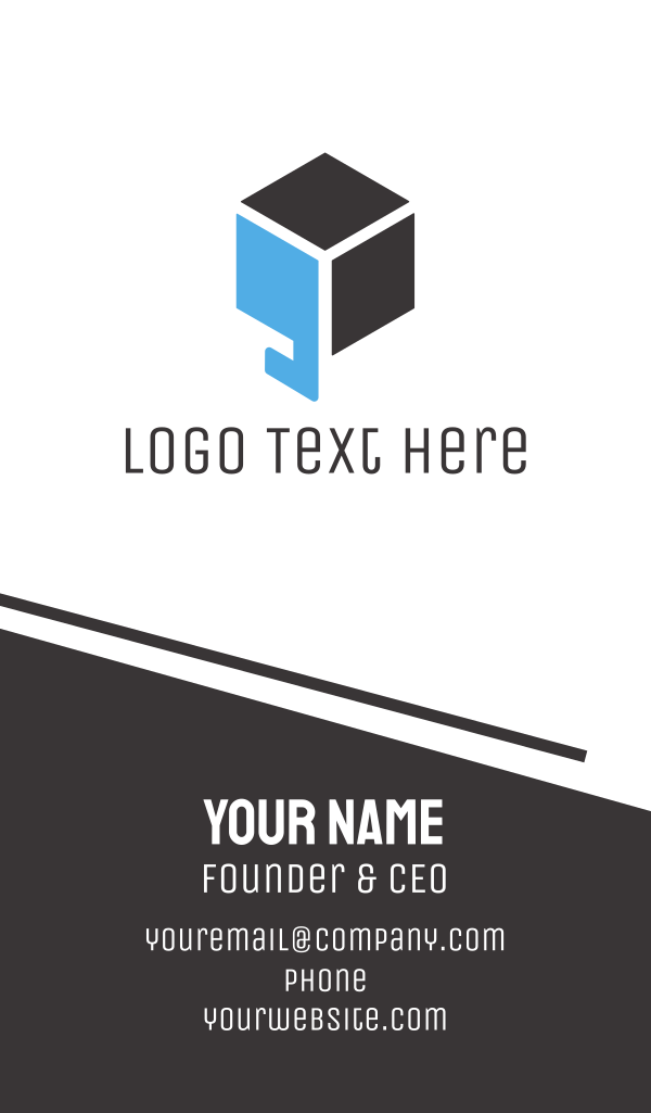 Quote Box Business Card