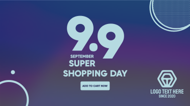 9.9 Shopping Day Facebook event cover