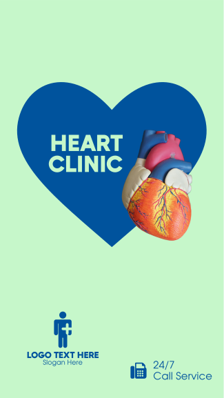 Heart Clinic Facebook story