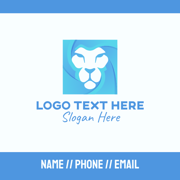 Blue Lion Business Card