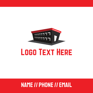 Black Warehouse Business Card