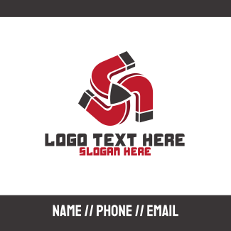 Red Magnet Media Player Business Card