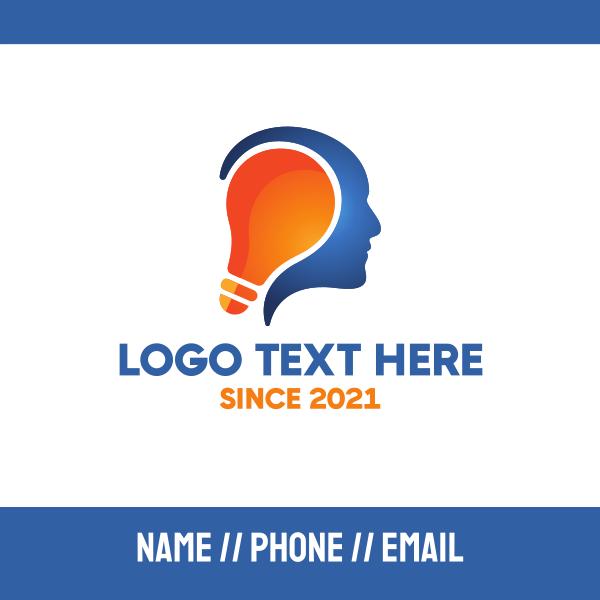 Human Bright Idea Business Card
