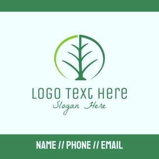 Tree Leaf Business Card