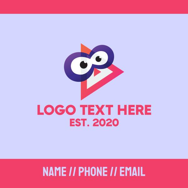 Youtube Mascot Business Card