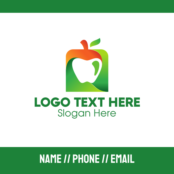 Square Apple Business Card