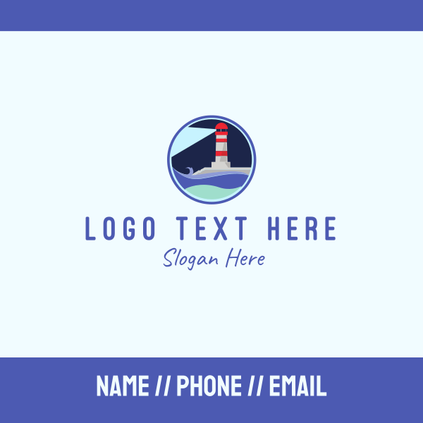 Lighthouse Circle Business Card