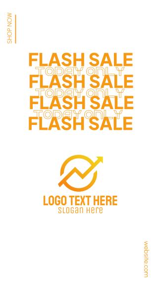 Flash Sale Shop Facebook story